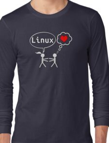 Linux Lover Long Sleeve T-Shirt