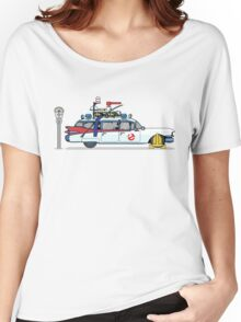 Ghostbusters Cadillac Wheel Clamp  Women's Relaxed Fit T-Shirt