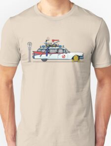 Ghostbusters Cadillac Wheel Clamp  T-Shirt