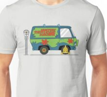 Mystery Machine Wheel Clamp  Unisex T-Shirt