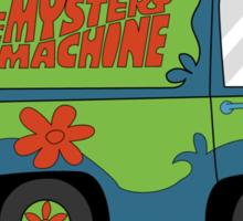 Mystery Machine Wheel Clamp  Sticker