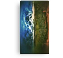 Side by side earth and sky Canvas Print