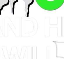 'Feed The Beast' Marshawn Lynch Sticker