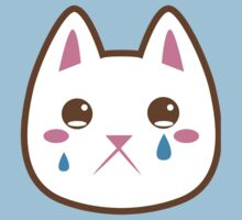 Super cute Chibi Kawaii kitten SAD :( by jazzydevil