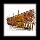The Sea Cabin's Pier by suzannem73