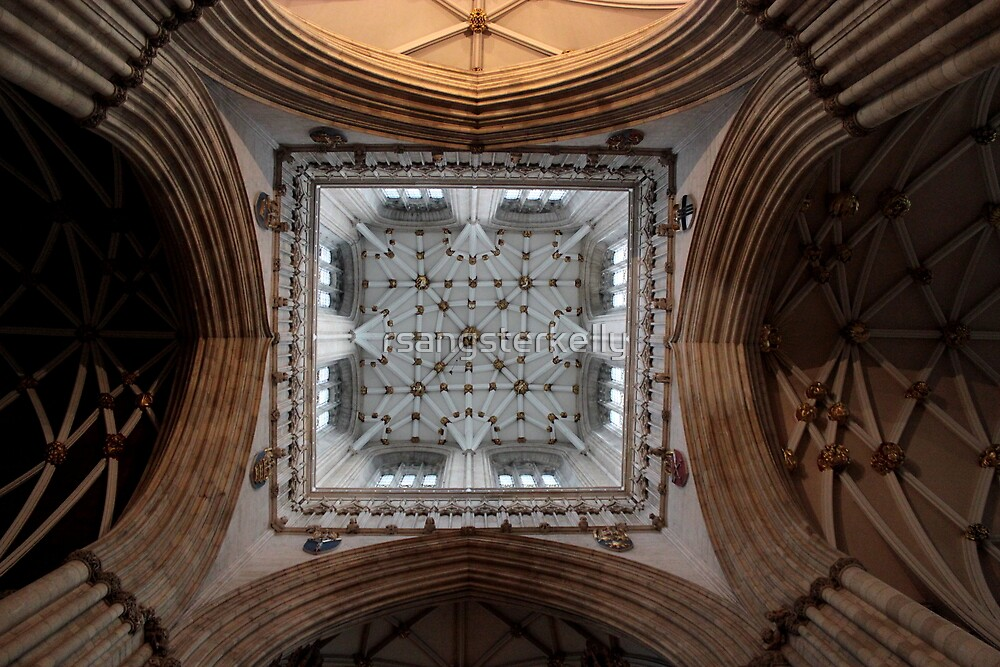 York Minster - Ceiling  by rsangsterkelly