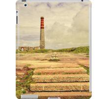 Cornish Tin Mine At Levant iPad Case/Skin