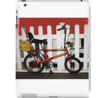 Vintage chopper bike   iPad Case/Skin