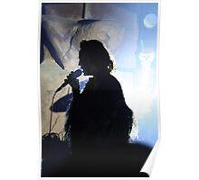 Silhouette of Lark Poster