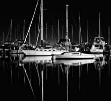 Night at Matilda Bay by Ladyshark