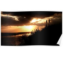 Sunset at Bishop's Head 2 Poster