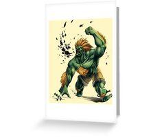 Blanka Greeting Card