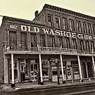 Old Washoe Club 1862 by thecameraman
