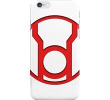 Red Lantern Insignia iPhone Case/Skin
