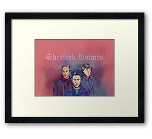 3 Sherlock Framed Print