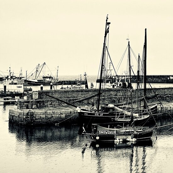 OLD HARBOUR by PlanetPenwith