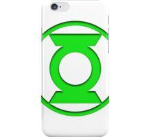 Green Lantern Insignia iPhone Case/Skin
