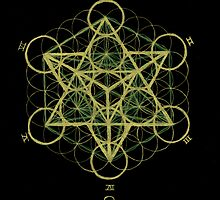 Metatron's cube by Seth Daughtrey