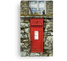 Edward VII Postbox Canvas Print