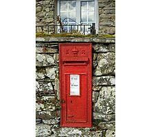Edward VII Postbox Photographic Print