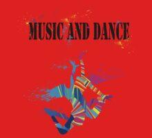 MUSIC AND DANCE Baby Tee