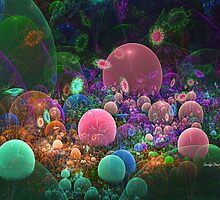 Fantasia Bubble Garden by abstractjoys