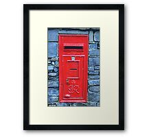 George VI Postbox Framed Print