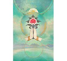 Divine Offering (Anjali Mudra) Photographic Print