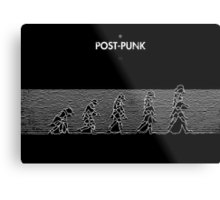 99 Steps of Progress - Post-punk Metal Print
