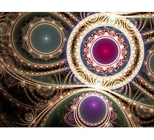 Gems & Gold Photographic Print