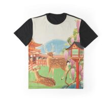 Vintage Travel Poster: Japan Graphic T-Shirt