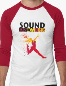 SOUND AND MUSIC Men's Baseball ¾ T-Shirt
