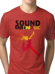 SOUND AND MUSIC Tri-blend T-Shirt