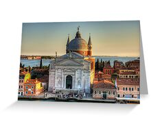 Il Redentore Greeting Card