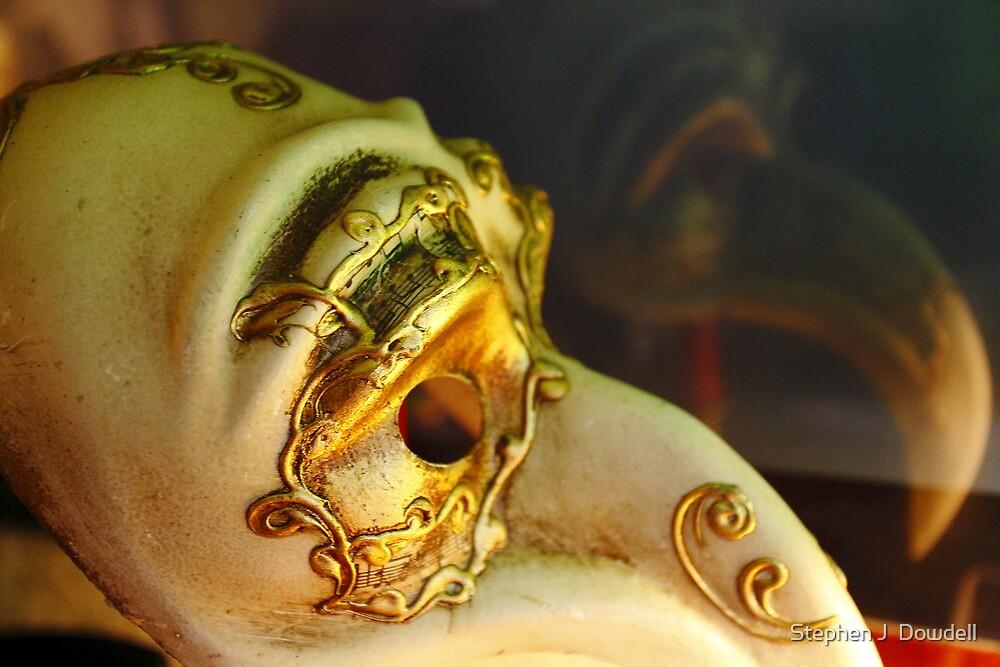 Masquerade Ball Mask by Stephen J  Dowdell