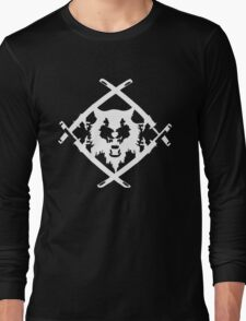 Xavier Wulf Black Long Sleeve T-Shirt
