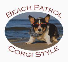 Beach Patrol Corgi Style Kids Clothes