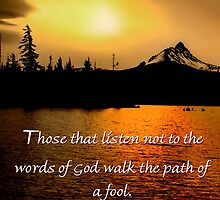 Card #445 Path of the fool by Charles & Patricia   Harkins ~ Picture Oregon