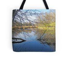 Cattail Marsh Tote Bag
