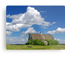 Prairie Past Metal Print
