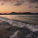 Sunset in Mallorca by Unai Ileaña