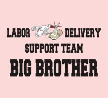 Labor Delivery Team Big Brother Kids Tee