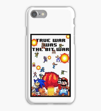 True war was the bit war iPhone Case/Skin