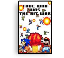 True war was the bit war Canvas Print