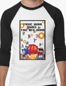True war was the bit war Men's Baseball ¾ T-Shirt
