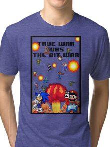 True war was the bit war Tri-blend T-Shirt