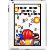 True war was the bit war iPad Case/Skin