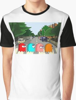 Pac Man Abbey Road Graphic T-Shirt