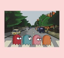 Pac Man Abbey Road Baby Tee