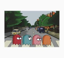 Pac Man Abbey Road Kids Tee